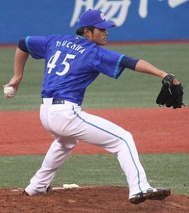 20130406_Kenji_Tsuchiya,_pitcher_of_the_Yokohama_DeNA_BayStars,_at_Meiji_Jingu_Stadium