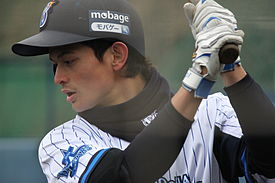 275px-20120304_Tomo_Otosaka,_outfielder_of_the_Yokohama_BayStars,_at_BayStars_Stadium