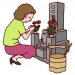 【生活豆知識】お墓参りについて【その2】方法・作法・マナー・墓石に水かけは?