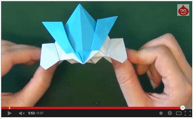 折り 折り紙:折り紙兜の折り方-yururinnews.com