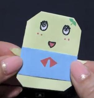 折り紙の キャラクターの折り紙の作り方 : yururinnews.com