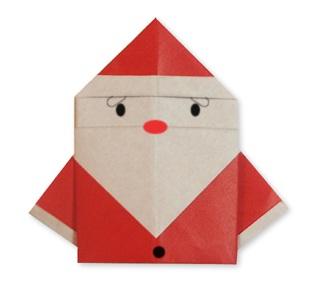 折り 折り紙:サンタさん 折り紙-yururinnews.com