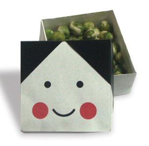 節分も折り紙で♪鬼・ふく(お ... : 折り紙 節分 箱 : 折り紙