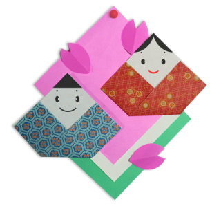 ハート 折り紙 折り紙 ひな人形 折り方 : yururinnews.com